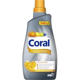 Coral Feinwaschmittel Sport Aktiv flüssig