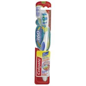 Colgate Zahnbürste 360° Wangen-und Zungenreiniger Medium