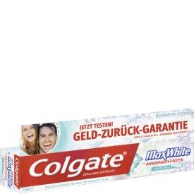 Colgate Zahncreme Max White Whitening Stripes Crystal Mint