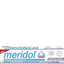 Meridol Zahncreme Sanftes Weiss gegen Zahnfleischentzündungen