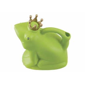 Esschert Design Gießkanne Froschkönig 1,7 l 24,3x11,6x19,5cm grün