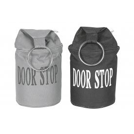 Esschert Design Türstopper doorstop 2,76 kg 34cm Ø13,5cm grau/schwarz