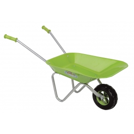 Esschert Design Kinder-Schubkarre 6,5l 76x41x39cm grün