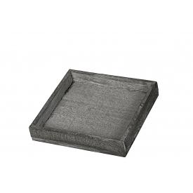 Tablett Holz 20x20x4cm