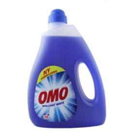 Omo Flüssigwaschmittel Brilliant White