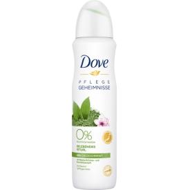 Dove Deo Spray Pflegegeheimnisse Matcha Grüntee & Kirschblüten