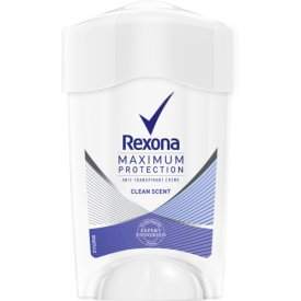 Rexona Deo Roll-On Deocreme Maximum Protection Clean Fresh