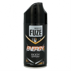 Body X Fuze Deospray 150ml Energy