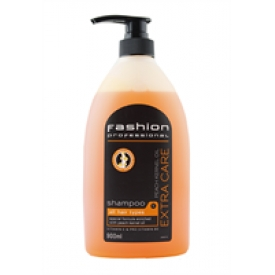 Fashion Professional Shampoo 900ml Peach Kernel Oil Extra Care