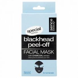 Sencebeauty Blackhead Peel-Off Mask 5x8g Normal Skin Kohle Maske