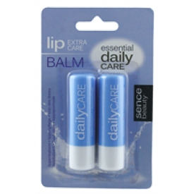Sencebeauty Lip Balm Twin Pack 2x4,8gr Regular