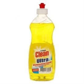 At Home Clean Ultra Geschirspülmittel Liquid Lemon
