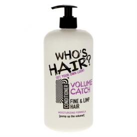 Who's Hair Conditioner 1000ml Volume Catch
