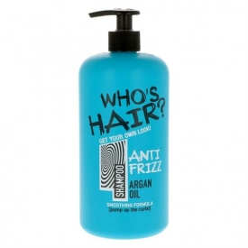 Who's Hair Shampoo 1000ml Antifrizz Argan Oil