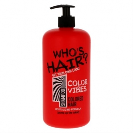 Who's Hair Shampoo 1000ml Color Vibes
