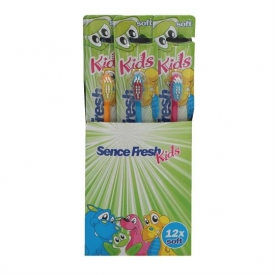 Sencefresh Zahnbürste 12er Karton Kids Soft