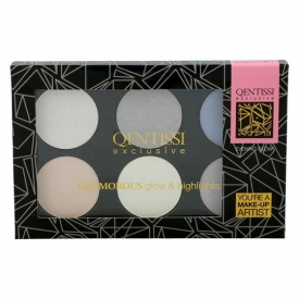 Qentissi Make-up Gift Highlight Palette 28g Cool Colors