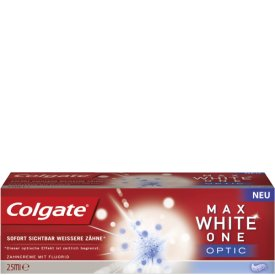 Colgate Zahncreme Max White One optic