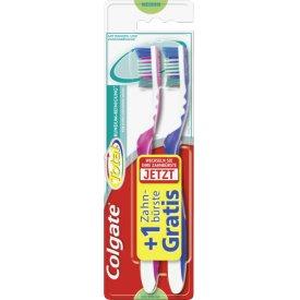 Oral-B Total Rundum-Reinigung Zahnbürste 1+1 medium