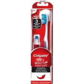 Colgate Max White Expert White Zahnbürste mit integrierten Whitening-Stift