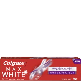Colgate Zahncreme Max White White&Protect