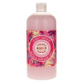 Body X Bad & Duschgel 1ltr Sweet Fantasy