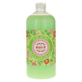 Body X Bad & Duschgel 1ltr Pure Secret