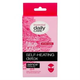 Sencebeauty Facial Self-Heating Detox Mask 6g 2pcs All Skin Types