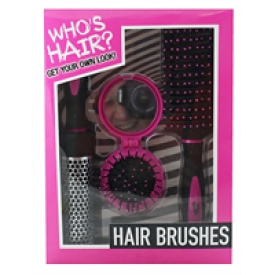 Who's Hair Giftset 3pcs Brushes