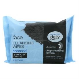 Sencebeauty Gesichtsreinigungstücher mit Aktivkohle