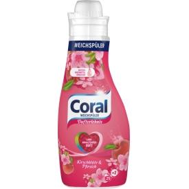 Coral Weichspüler Kirschblüte & Pfirsich 25 WL