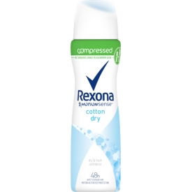 Rexona Deo Spray Compressed Cotton Dry