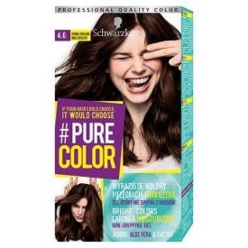 Schwarzkopf Hair Color Pure Color 4.6 Dark Chocolate