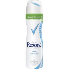 Rexona Deo Spray Compressed Cotton Ultra Dry