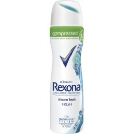 Rexona Deo Spray Compressed Shower Fresh