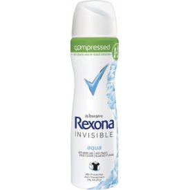 Rexona Deo Spray Compressed  Invisible Aqua