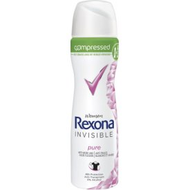 Rexona Deo Spray Compressed Invisible Pure