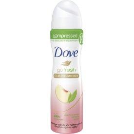 Dove Deo Spray Go Fresh Peach & Lemon ohne Aluminiumsalze