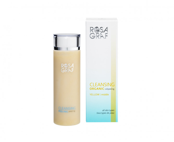 Rosa Graf  Cleansing Organic CellPeeling YELLOW - middle