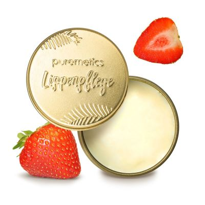 Puremetics Seifen Lip Balm Erdbeer