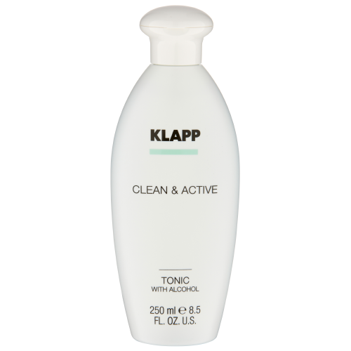 Klapp Kosmetik Clean & Active  Tonic with Alcohol