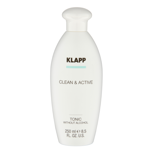 Klapp Kosmetik Clean & Active  Tonic without Alcohol