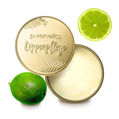 Puremetics Seifen Lip Balm Limette