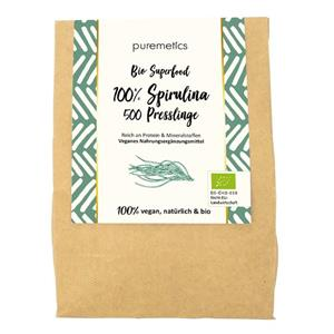Puremetics Seifen Bio Spirulina Presslinge