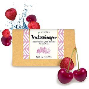 Puremetics Seifen Nachfüllpack: Trockenshampoo 'Red Berries'