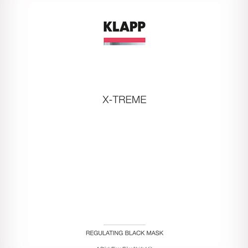 Klapp Kosmetik  Regulating Black Mask