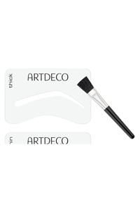 Artdeco Brauen Eye Brow Stencils with Brush Applicator