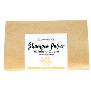 Puremetics Seifen Shampoo-Pulver Hafermilch Zitrone