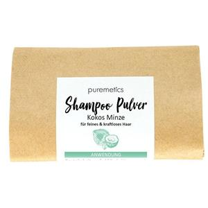 Puremetics Seifen Shampoo-Pulver  Kokos Minze