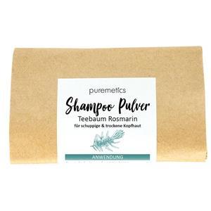 Puremetics Seifen Shampoo-Pulver Teebaum Rosmarin